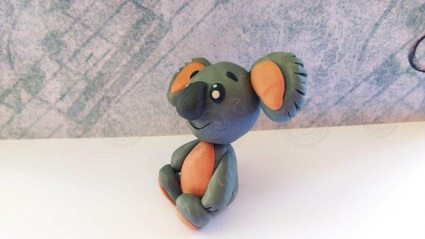 Коала из пластилина: мастер-класс и пошаговая инструкция, как слепить красивую коалу из пластилина своими руками