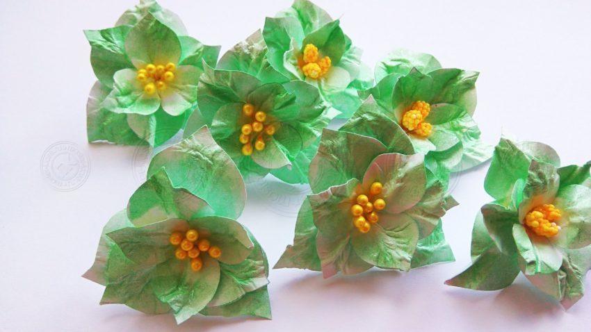 Красивые цветы из бумаги своими руками: легкий мастер-класс + поэтапная инструкция