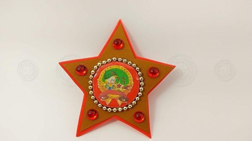 Звезда — поделка к 23 февраля. Инструкция, как сделать красивый подарок к дню защитника отечества