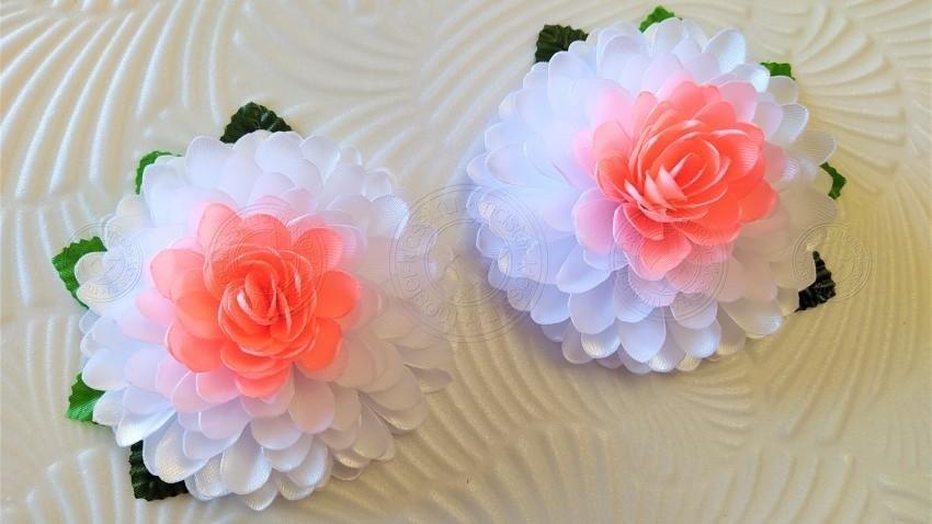 Цветы хризантемы из фетра и атласных ленточек своими руками: мастер-класс + пошаговая инструкция (25 фото)