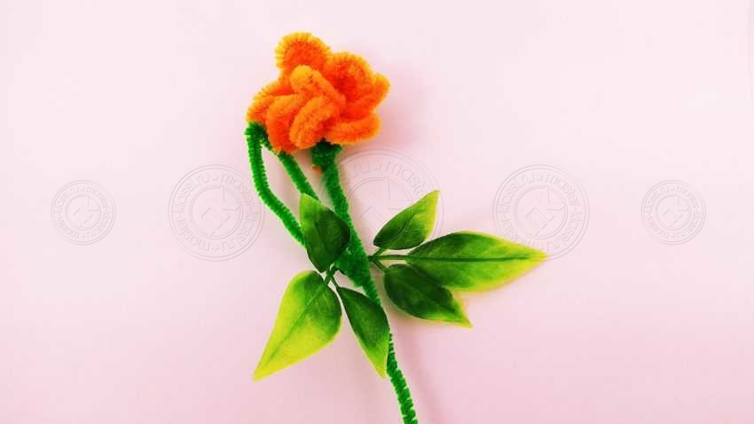 Как сделать цветок роза из пушистой проволоки своими руками: инструкция от А до Я + мастер-класс для детей (15 фото)