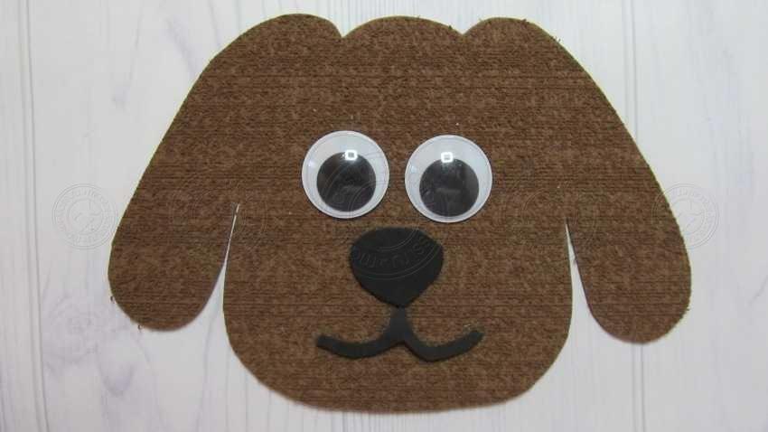 Аппликация собачка своими руками: легкий мастер-класс для детей 2, 3, 4, 5, 6 лет