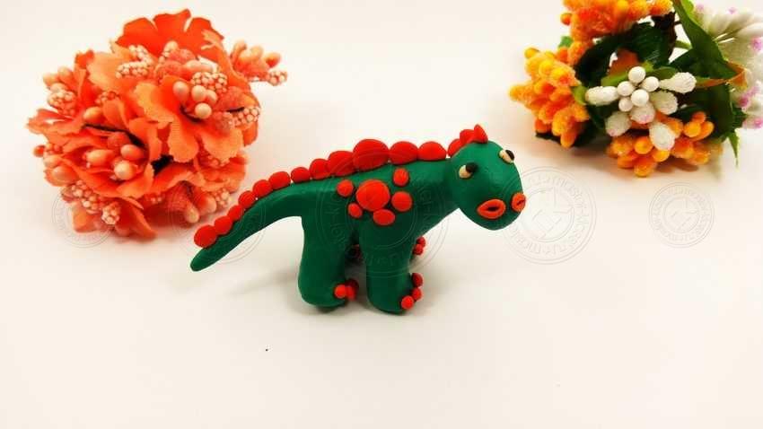 Как слепить динозавра из пластилина своими руками: пошаговая инструкция с описанием + 20 фото