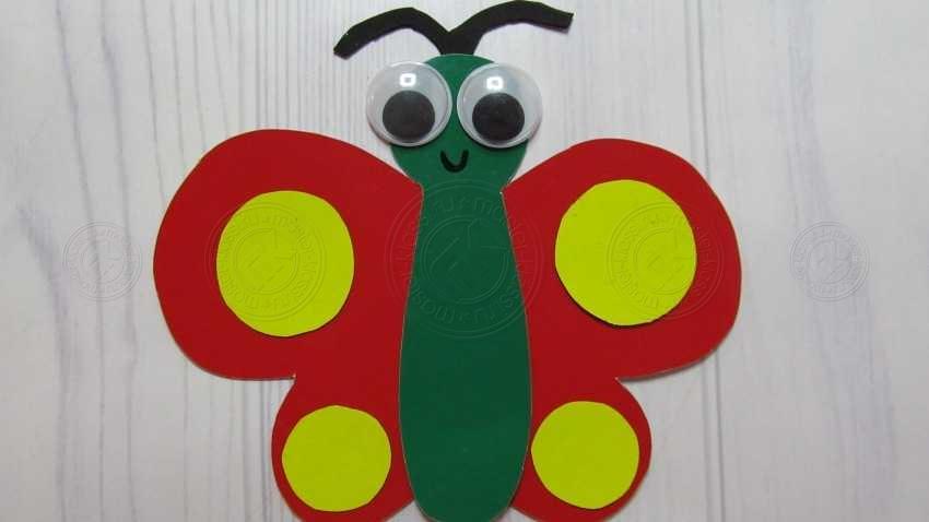 Аппликация бабочка в детский садик для детей 3 — 4 лет своими руками: легкая инструкция + мастер-класс с фото