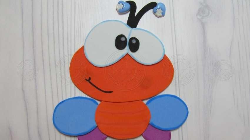 Аппликация Пчела для детей 3, 4, 5, 6 лет — пошаговая инструкция от А до Я. Мастер-класс + фото и шаблон