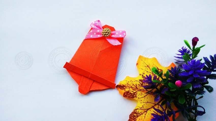 Оригами колокольчик — подробная инструкция, как легко и быстро сложить красивый колокольчик своими руками