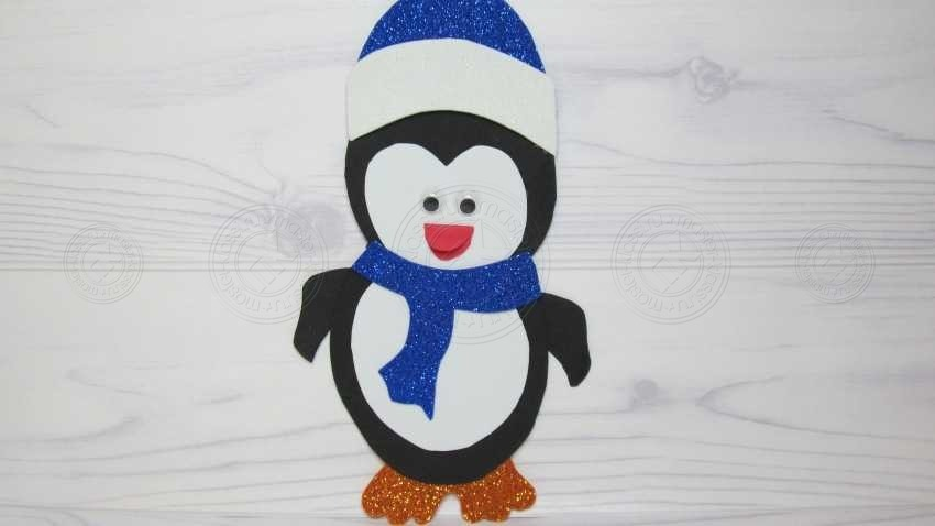 Аппликация пингвин своими руками: пошаговая инструкция от А до Я. Легкий мастер-класс для детей любого возраста