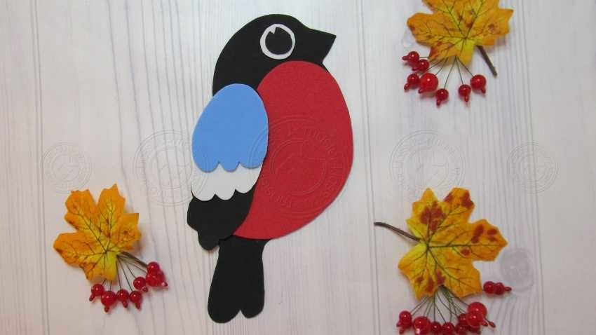 Аппликация птица Снегирь из фоамирана своими руками — легкая инструкция для детей. Схемы, шаблон, фото, мастер-класс
