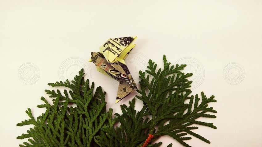 Поделка голубь оригами из купюры своими руками: готовая схема от А до Я + инструкция с фото и описанием