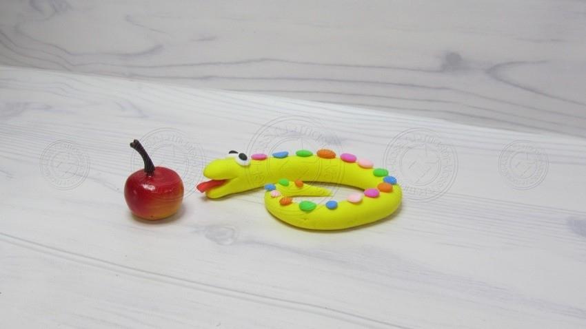Как слепить змею из пластилина поэтапно — инструкция для детей с фото и описанием