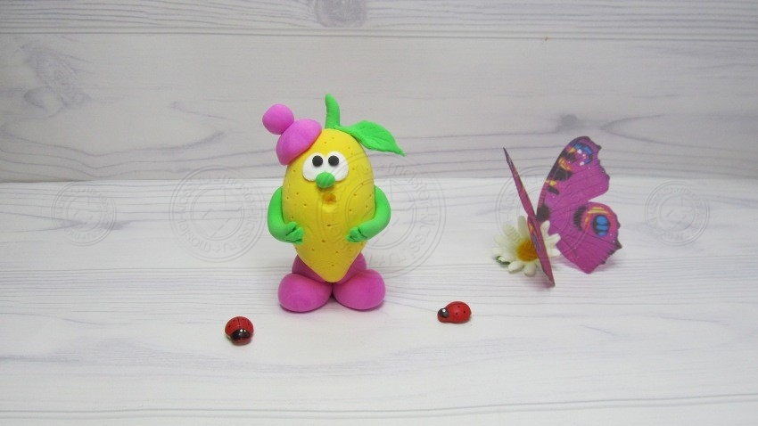 Лимон из пластилина поэтапно: мастер-класс для детей. Обзор лучших идей по лепке фруктов из пластилина своими руками