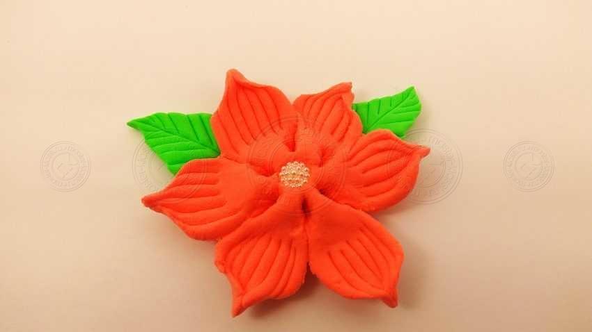 Поделка яркий цветок из легкого пластилина: инструкция + мастер-класс с фото и описанием
