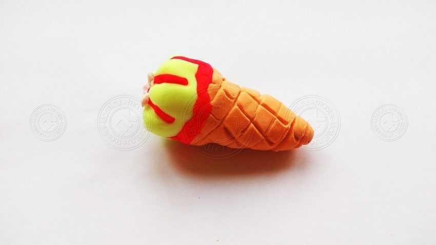 Поделка мороженое из легкого пластилина своими руками: простая схема лепки для детей от А до Я