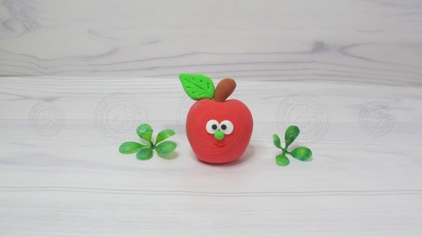 Яблоко из пластилина своими руками — инструкция, как поэтапно слепить красивое яблочко (мастер-класс для детей)