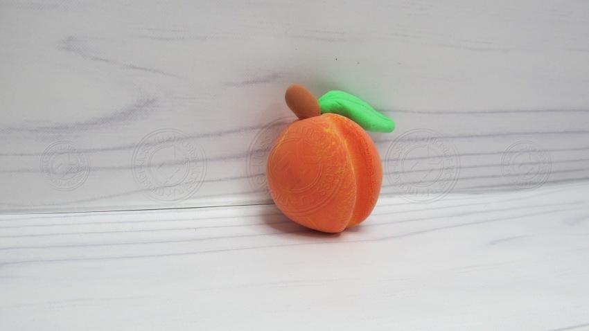 Персик из пластилина — как слепить своими руками поэтапно. Инструкция + мастер-класс для детей!