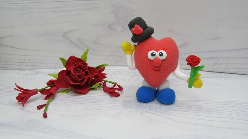 Сердечко на 14 февраля своими руками: мастер-класс по созданию украшения на день св. Валентина