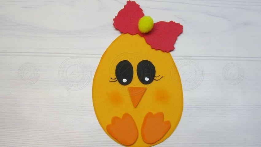 Поделка на Пасху — магнит в виде яйца: легкий мастер-класс по создания украшения