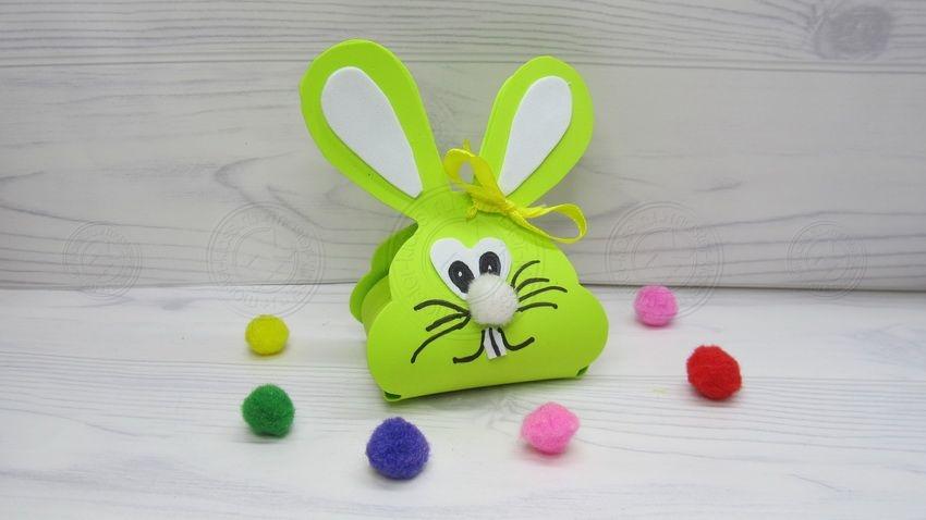 Подарок зайчик — коробка для конфет: инструкция, как сделать своими руками