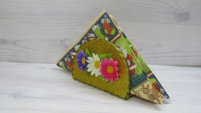 Подарок маме на 8 марта салфетница своими руками: интересный мастер-класс для детей любого возраста