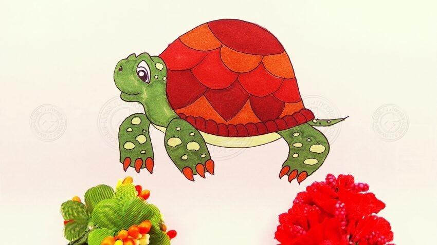 Как нарисовать черепаху своими руками поэтапно: инструкция от А до Я, как создавать красивые рисунки карандашами