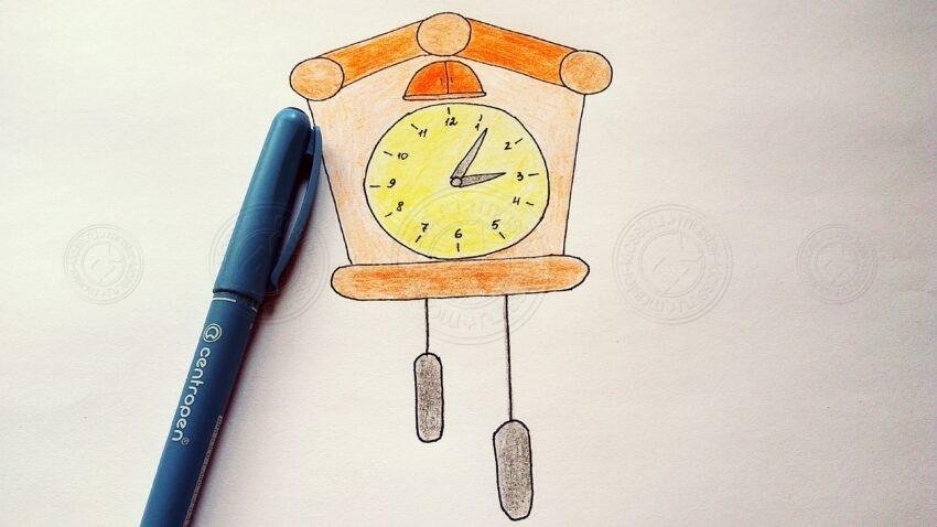 Как нарисовать часы карандашами поэтапно: инструкция, фото, готовая схема, необычные идеи для рисунков