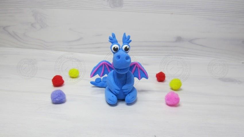 Дракон из пластилина своими руками: поэтапная инструкция для детей с фото и описанием