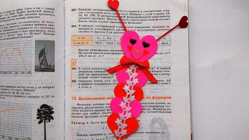 Бабочка-закладка ко Дню Валентина: мастер-класс по созданию красивого подарка на 14 февраля